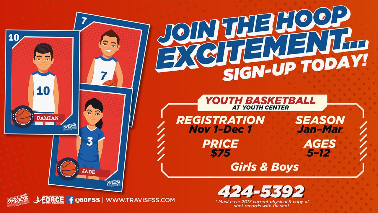 Youth Basketball Sign-Ups