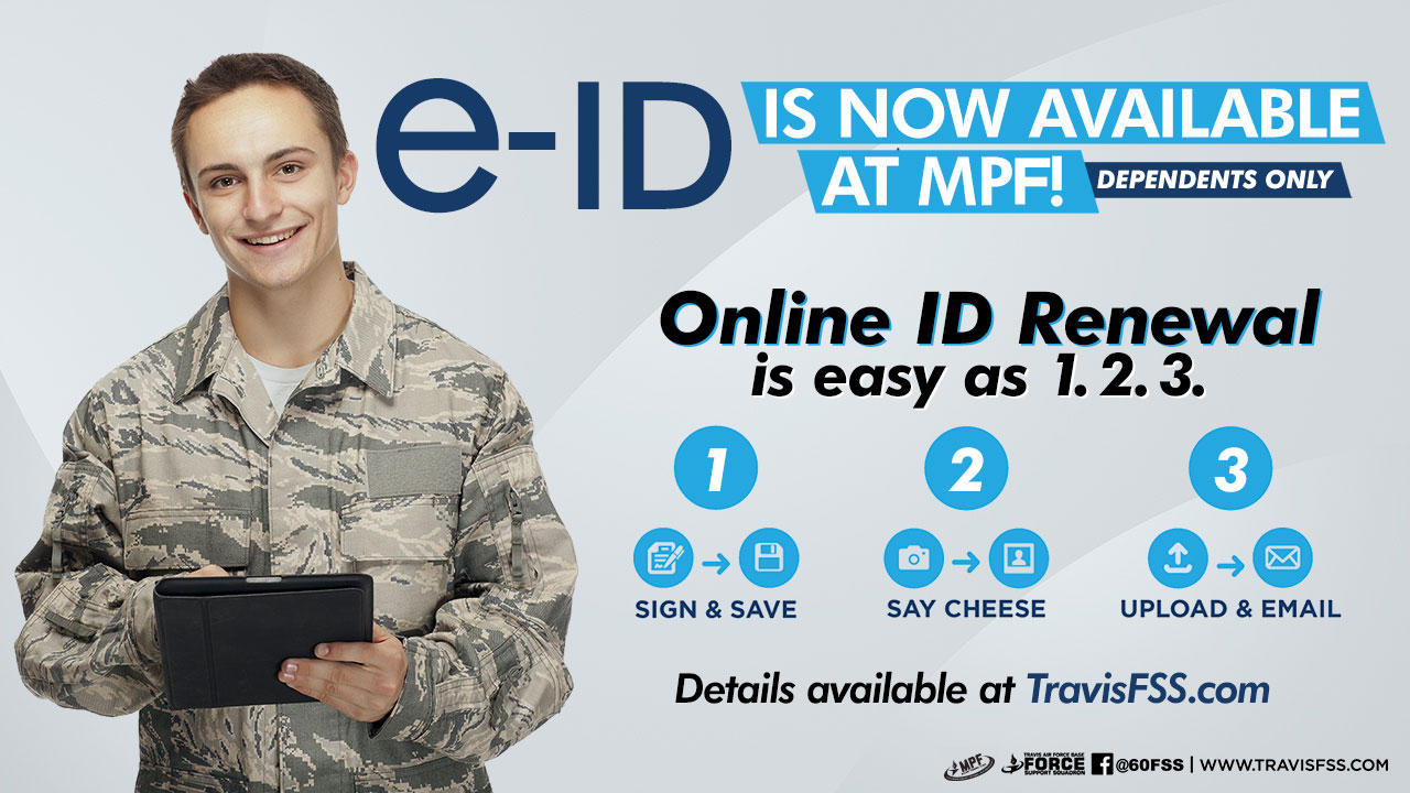 Id Cards Deers Military Personnel Section Mps 60 Travis