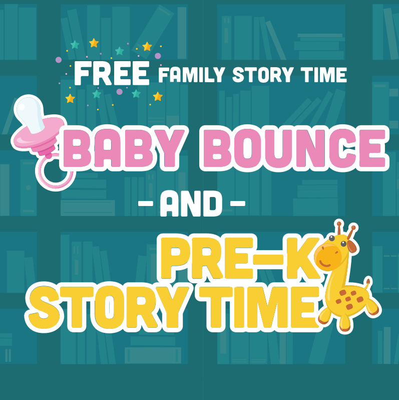 FREE Baby Bounce And Pre-K Story Time