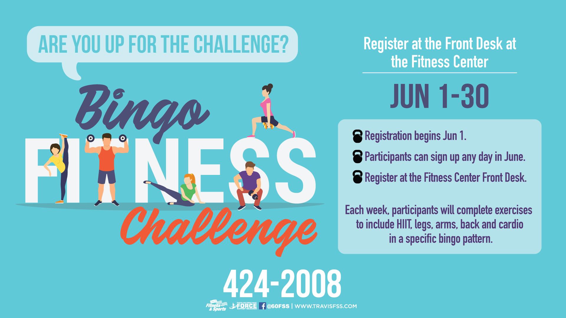 Fitness-Bingo