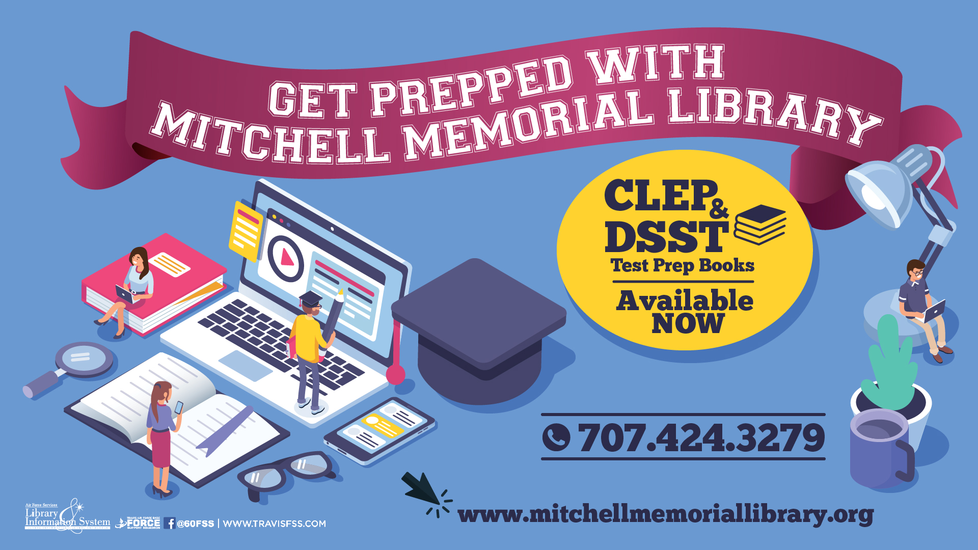College Test Prep At Mitchell Memorial Library