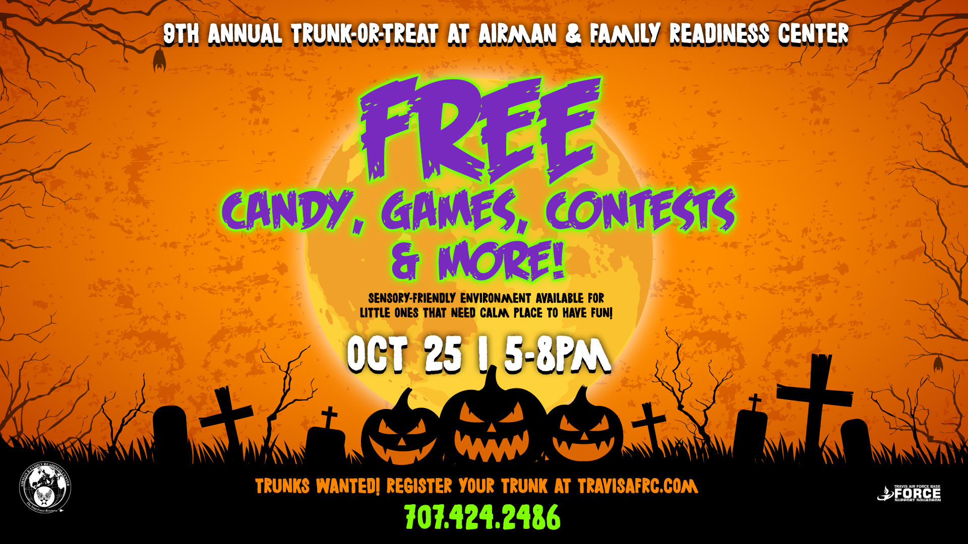 Trunk Or Treat At Travis AFRC