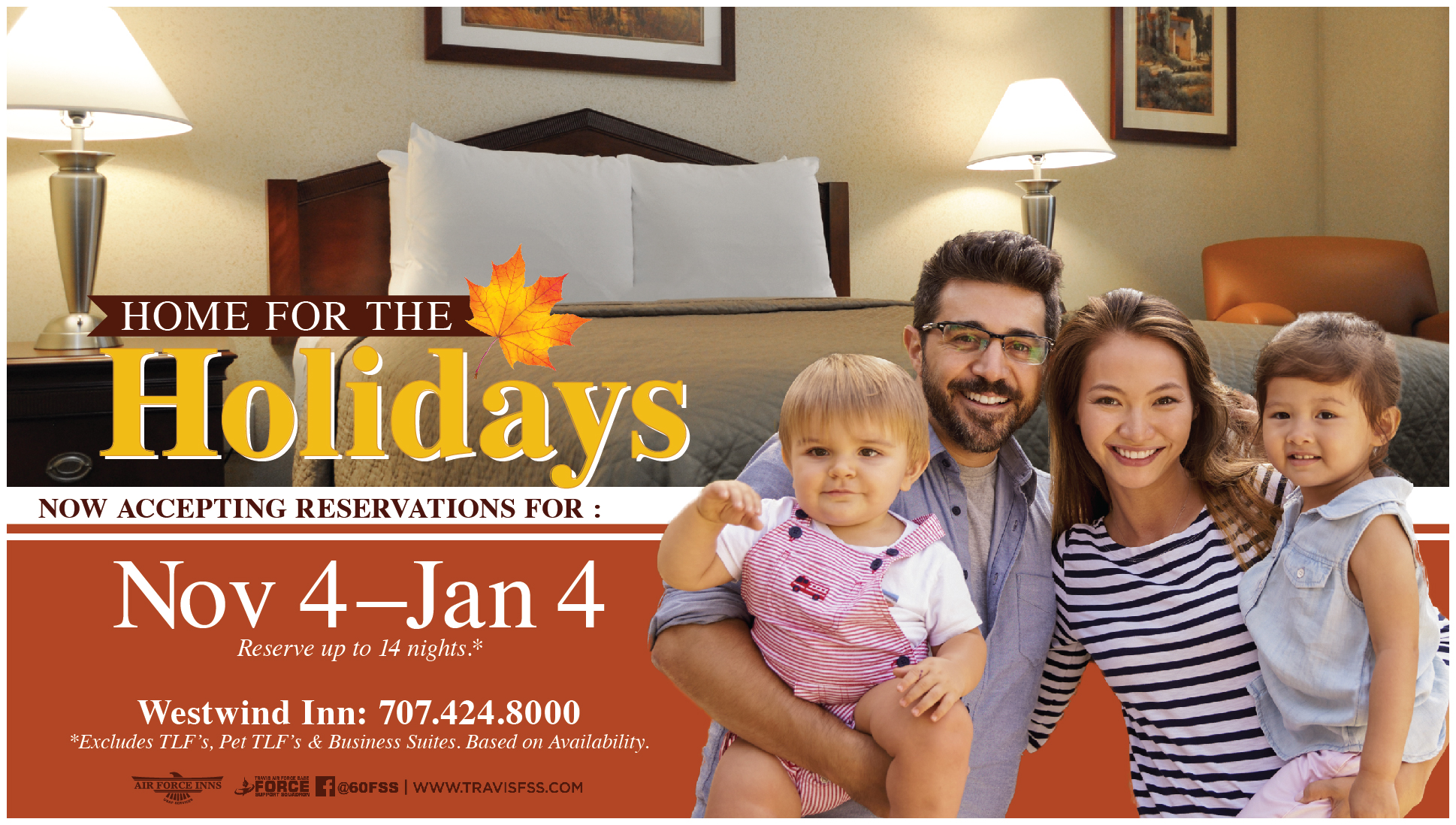 Home For The Holidays At Westwind Inn