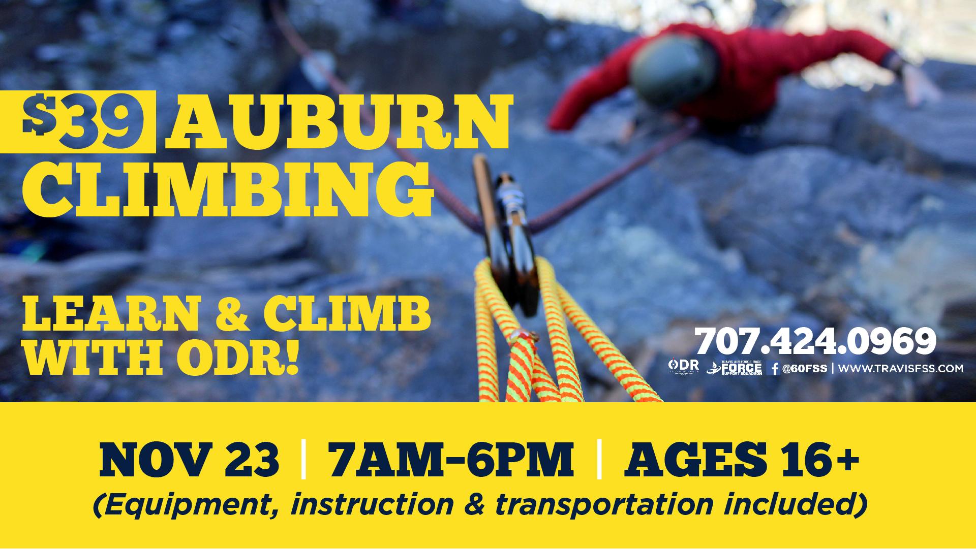 Auburn Climb With ODR